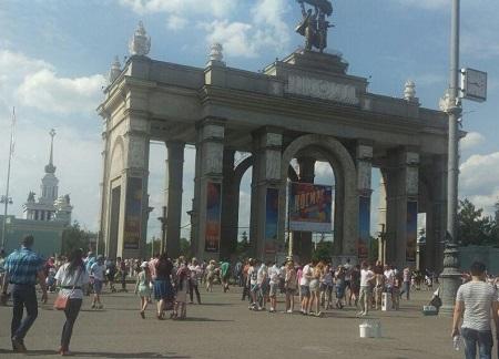 آخرین روز نمایشگاه سنگ مسکو